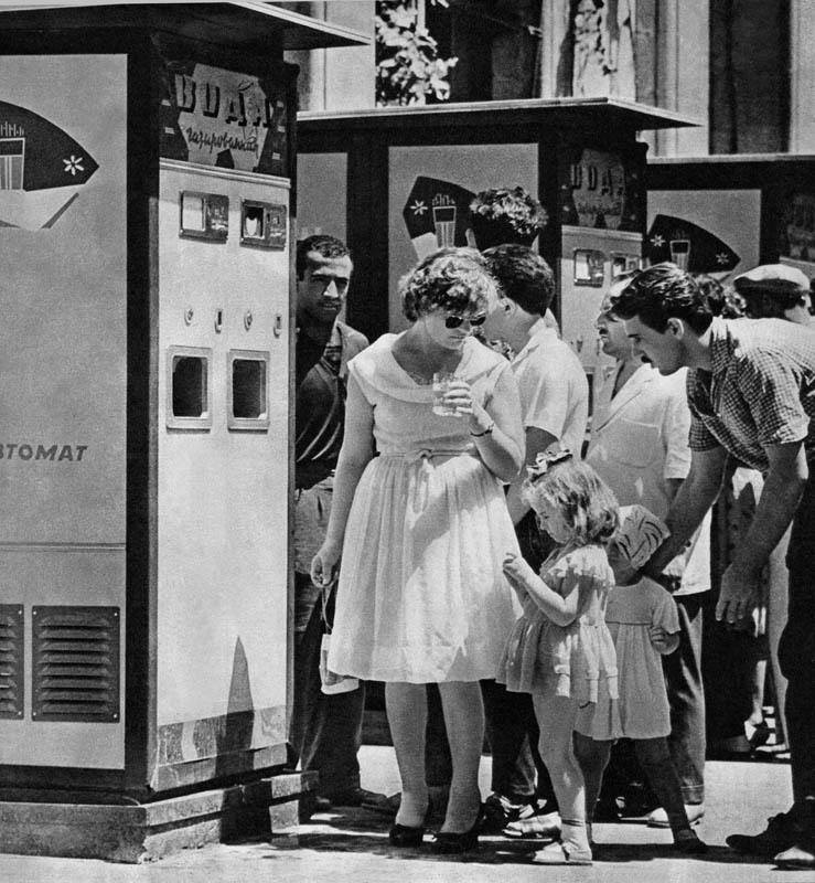 автоматов газированной